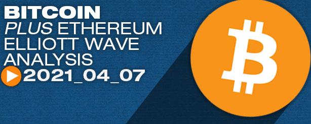 Bitcoin Elliott Wave Analysis, 7 April