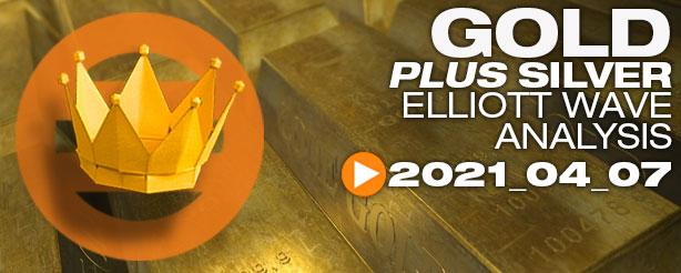 Gold XAU/USD Analysis Elliott Wave, 7 April