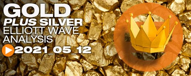 Gold Elliott Wave, 12 May