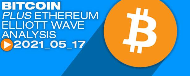 Bitcoin Elliott Wave Analysis, 17 May