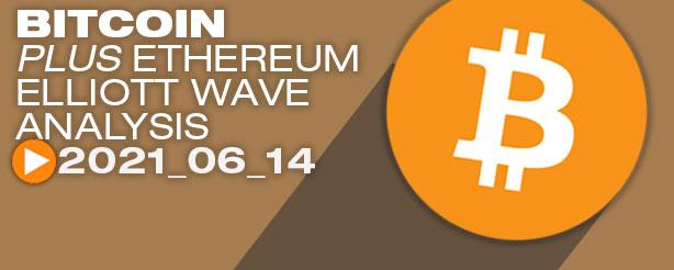 Bitcoin Elliott Wave Analysis, 14 June