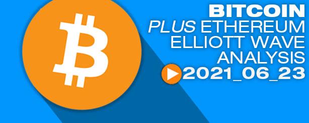 Bitcoin Elliott Wave Analysis, 23 June