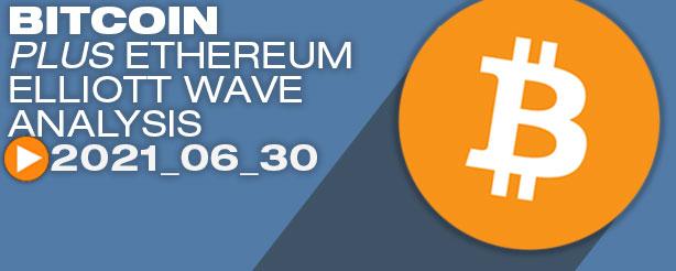 Bitcoin Elliott Wave Analysis, 30 June