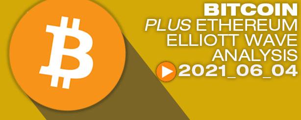 Bitcoin Elliott Wave Analysis, 4 June