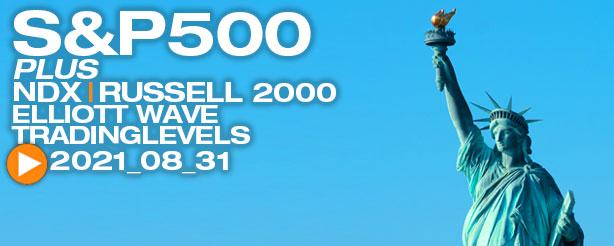 S&P 500 Elliott Wave Analysis, 31 August 2021